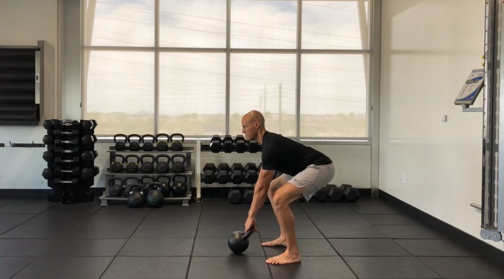 Kettlebell Swing - The Setup Position