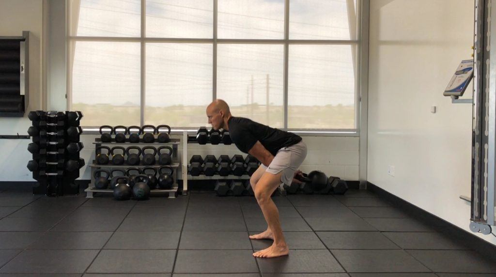 Kettlebell Swing - The Hike Position